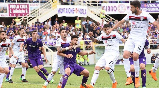 Фиорентина не смогла обыграть Кальяри: 9 тур Серии А, матчи воскресенья