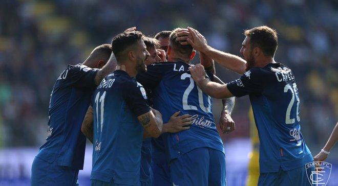 Фрозиноне – Эмполи – 3:3 – видео голов и обзор матча