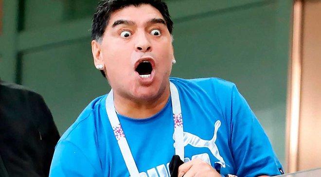 """Марадона """"дал заднюю"""": легенда утверждает, что не оскорблял Месси"""