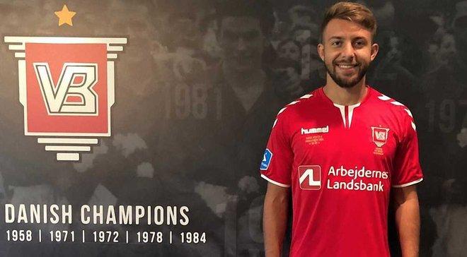 Юрченко дебютировал за Вайле в матче против Копенгагена