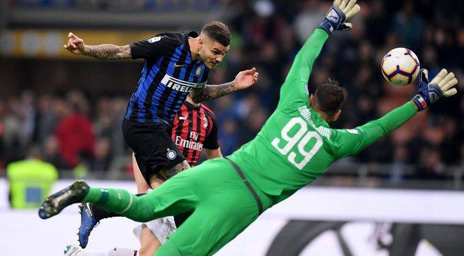 Интер в компенсированное время вырвал победу над Миланом