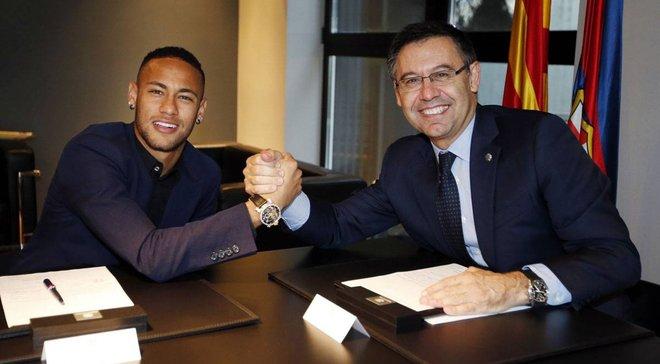Бартомеу прокомментировал возможное возвращение Неймара вБарселону— Футбол 24