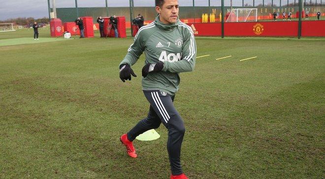 Санчес пропустил тренировку Манчестер Юнайтед – участие в матче с Ювентусом под вопросом