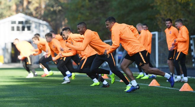 Шахтар провів заключне тренування перед матчем проти Манчестер Сіті