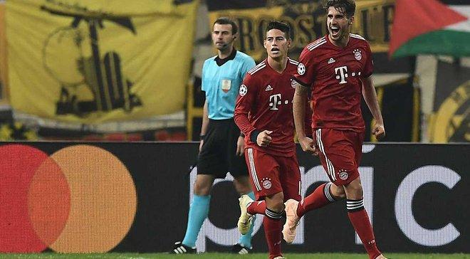 Бавария одержала 100-ю победу для немецких клубов в Лиге чемпионов
