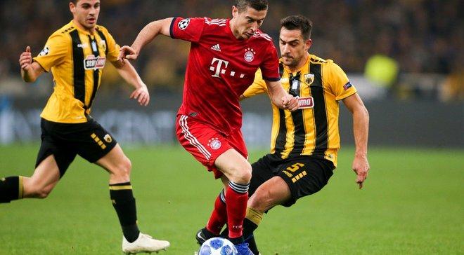 АЕК – Бавария – 0:2 – видео голов и обзор матча