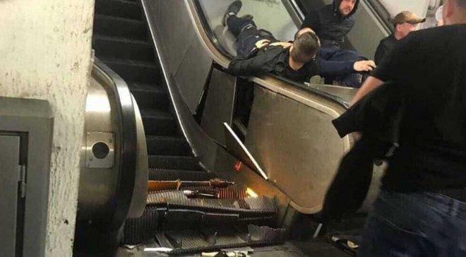 Украинцы, пострадавшие в римском метро, оказались фанатами московского ЦСКА