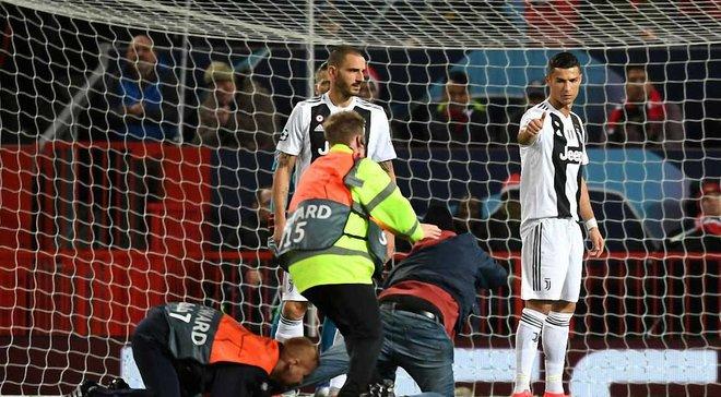 УЕФА накажет Манчестер Юнайтед из-за поведения болельщиков во время матча с Ювентусом