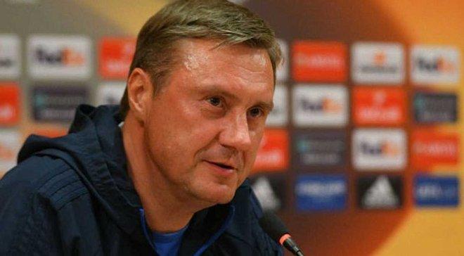 Ренн – Динамо: предматчевая пресс-конференция Александра Хацкевича