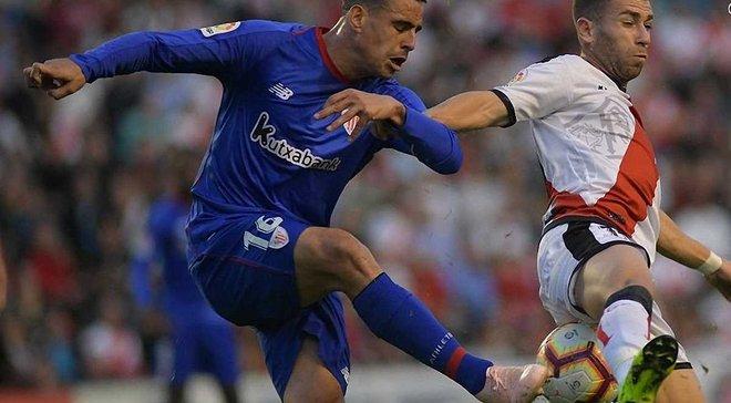 Ла Ліга: Райо Вальєкано вдома не втримав перемогу над Атлетіком