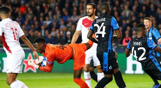 Лига чемпионов: Монако и Брюгге разошлись миром