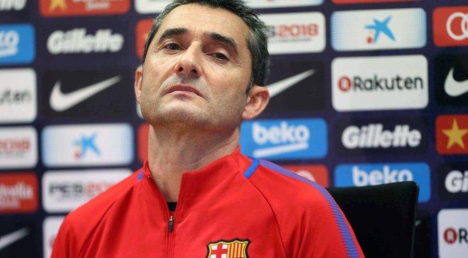 Вальверде: Барселона прагне перемагати і без Мессі