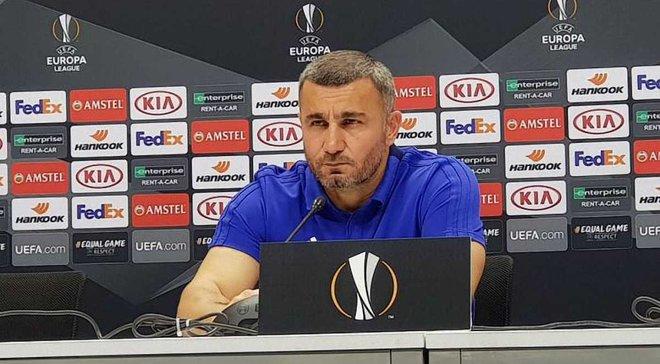 Гурбанов: В матче с Ворсклой все решил один удар, виноват вратарь