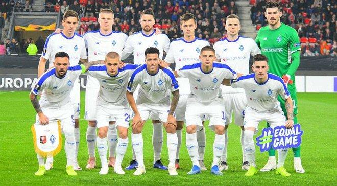 Динамо сыграло 1000-й матч украинских клубов в еврокубках