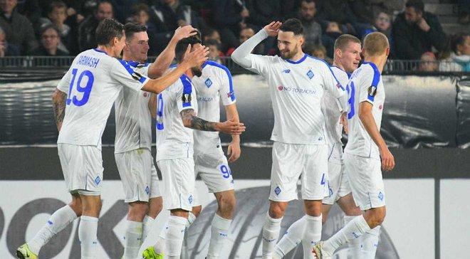 Рейтинг УЕФА: Динамо и Ворскла улучшили свои позиции, Шахтер снова опустился