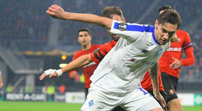 Заховайло: Бразильцы Динамо в матче с Ренном мне понравились