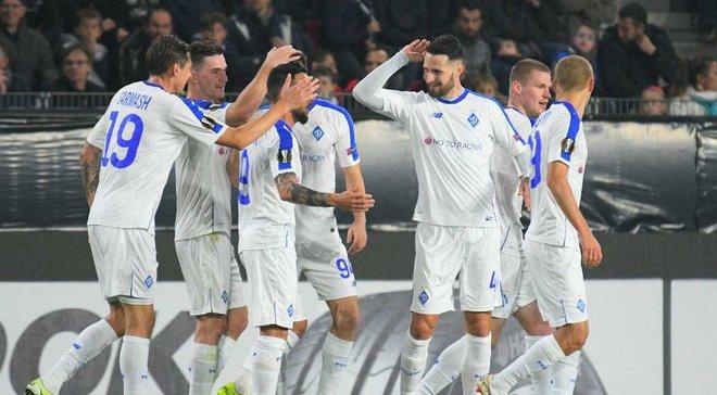 Динамо вернулось в Киев после победы над Ренном