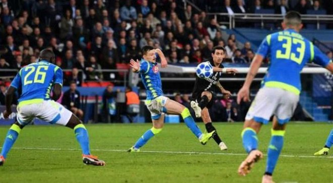 Ди Мария стал автором самого красивого гола недели в Лиге чемпионов