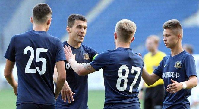 Первая лига: СК Днепр-1 разбил Николаев, Кравченко отметился дублем