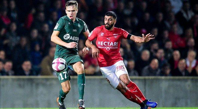 Лига 1: Ним и Сент-Этьен не выявили сильнейшего