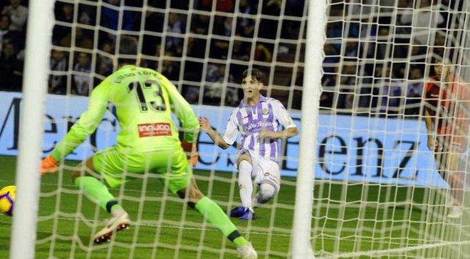 Вальядолид на последних минутах спас ничью в матче с Эспаньолом