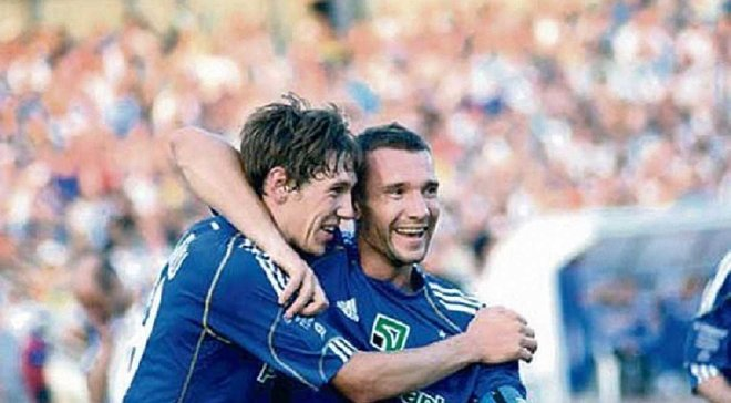 Гармаш сравнялся с Шевченко по количеству матчей в футболке Динамо