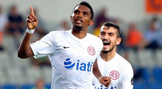 Ето'О забив курйозний гол у Катарі