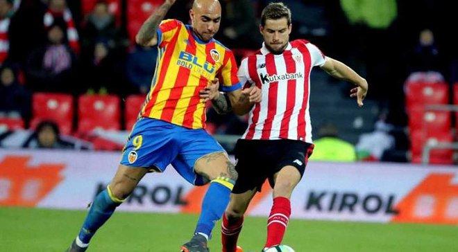 Атлетик – Валенсия: прямая трансляция