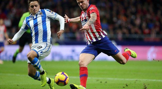 Атлетико победил Реал Сосьедад и возглавил турнирную таблицу: 10 тур Ла Лиги, матчи субботы