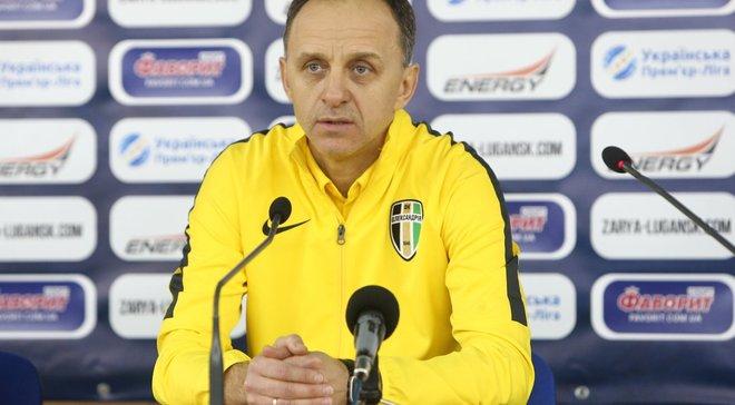 Тренер Олександрії Первак впевнений, що пенальті у матчі з Зорею не було