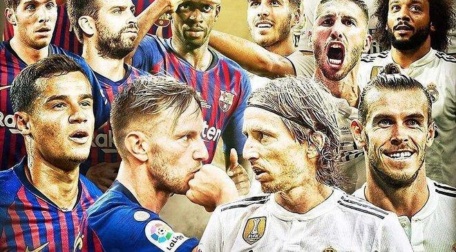 Эль Класико Барселона – Реал: промо центрального матча уик-энда