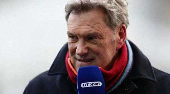 Экс-игрок сборной Англии Ходдл госпитализирован прямо из студии британского телеканала