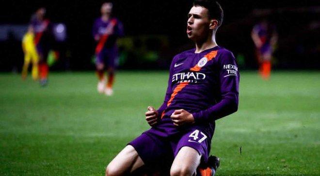 Ювентус нацелился на юную звезду Манчестер Сити