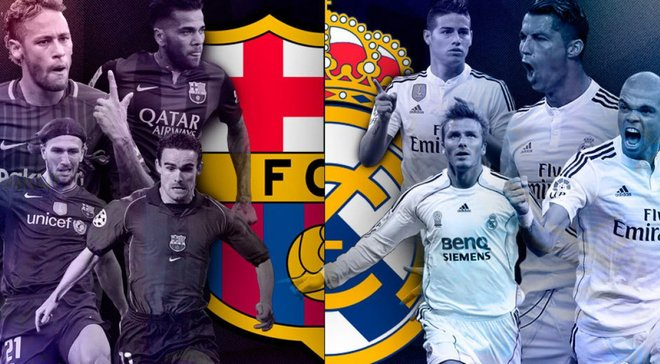Барселона – Реал Мадрид: украинец и еще 21 футболист в символических сборных самых дорогих игроков команд в истории