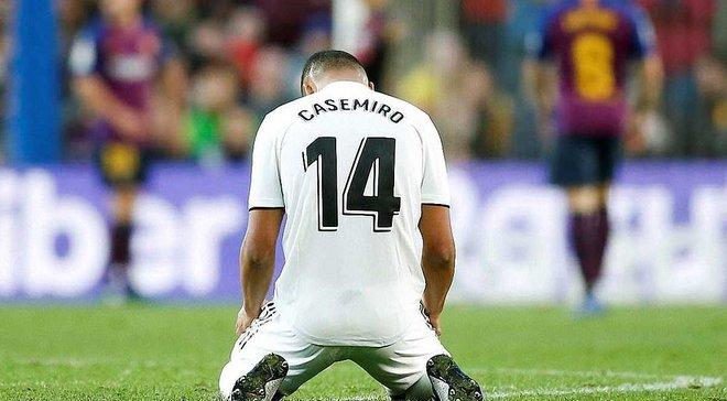 Каземіро: Рахунок 5:1 демонструє все, що зараз відбувається з Реалом, і винен тут не тренер