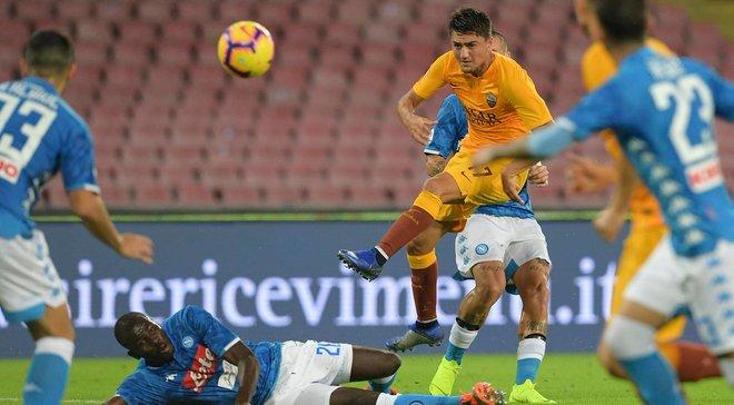 Наполи – Рома – 1:1 – видео голов и обзор матча