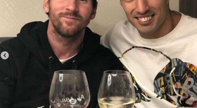 Мессі та Суарес разом відсвяткували перемогу над Реалом