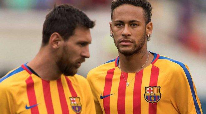 Мессі схвалив повернення Неймара в Барселону