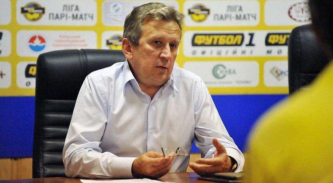 Президент Ворсклы опроверг информацию Бурбаса об ультиматуме футболистов в ФФУ относительно долгов