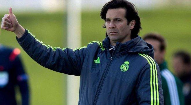 Солари будет и. о. главного тренера Реала не более двух недель