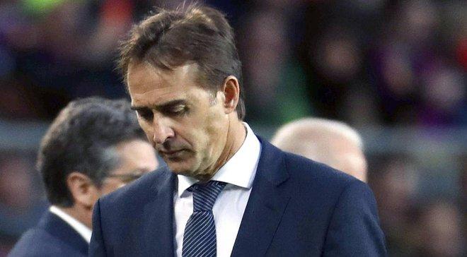 Лопетеги установил антидостижение по продолжительности работы в Реале