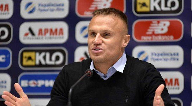 Ротань: Шевчук вимагатиме від гравців гідної гри у матчі проти Шахтаря