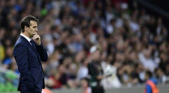 Реал назвал причину увольнения Лопетеги