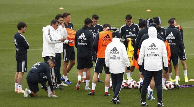Солари провел первую тренировку во главе Реала