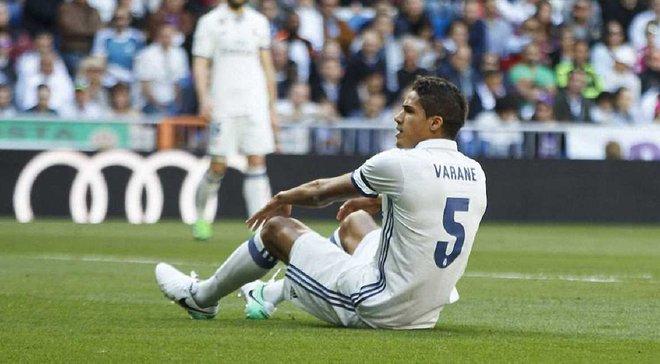 Реал попал в полосу неудач – Варан выбыл на длительный срок