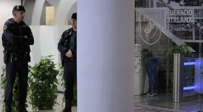 Вице-президент Королевской испанской футбольной федерации арестован по подозрению в коррупции