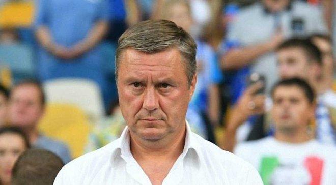 Хацкевич не полетел с Динамо в Ужгород на матч против Миная, а присоединится к киевлянам только сегодня