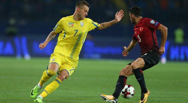 Украина – Турция: товарищеский матч будет обслуживать бригада арбитров из Чехии