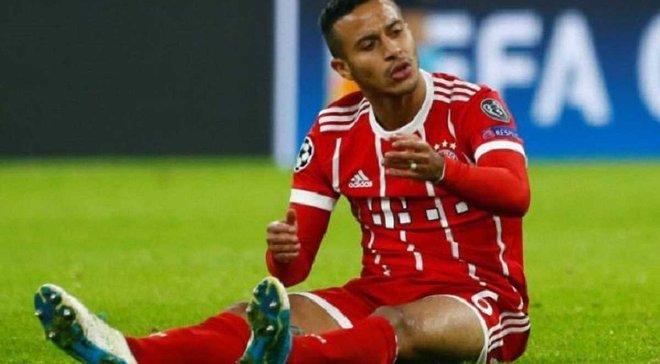 Бавария продолжает терять игроков – Алькантара выбыл на несколько недель