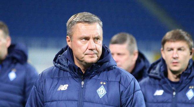 Хацкевич: В первом тайме дали порадоваться команде соперника